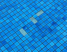 Underwater Pool Tile Repair